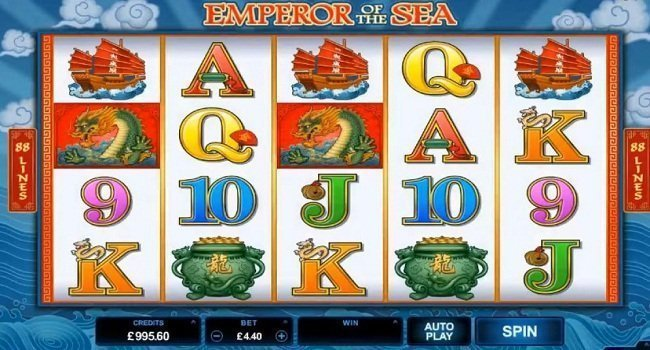 Emperor of the sea Slot review