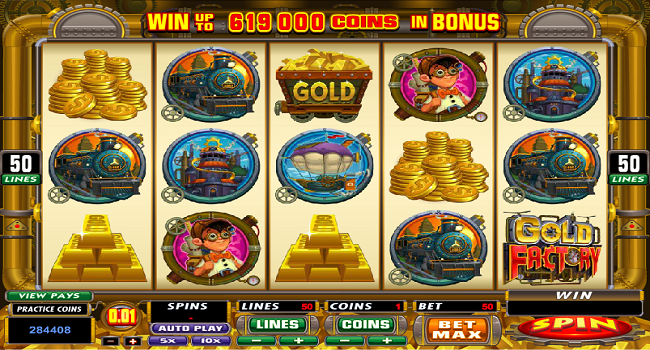 Gold Factory (Microgaming) Slot