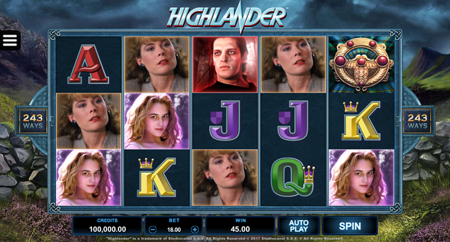 Highlander (Microgaming) Slot