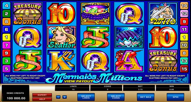 Mermaid's Millions Slot