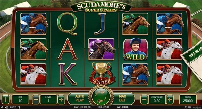 NetEnt Scudamore's Super Stakes Slot Review