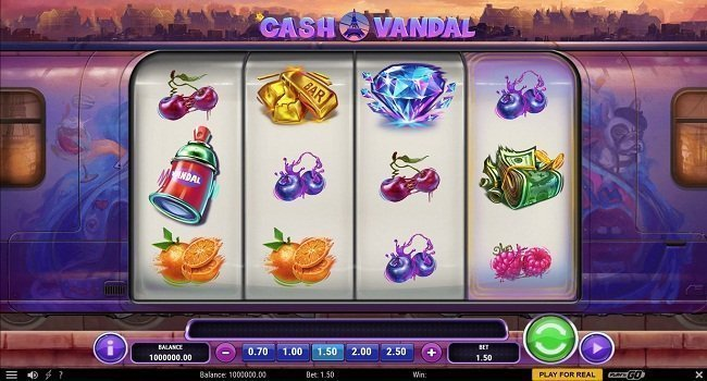 Cash Vandal(Play'n Go) Slot