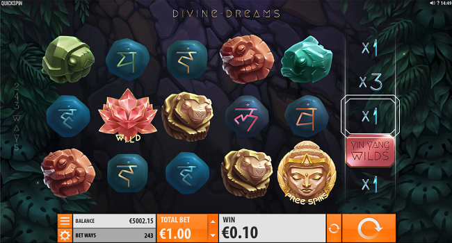 Divine Dreams (Quickspin) Slot Review