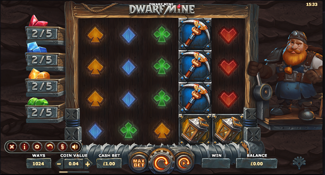 Dwarf Mine(Yggdrasil Gaming) Slot