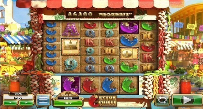 Extra Chilli(Big Time Gaming) Slot Review