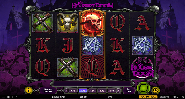 House of Doom (Play'n Go) Slot