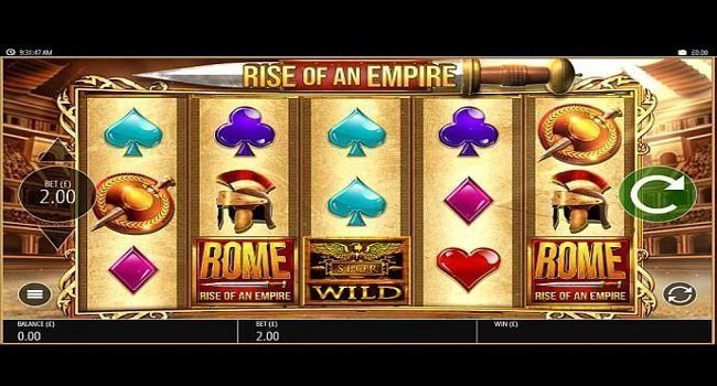 Rome Rise of an Empire (Blueprint Gaming) Slot