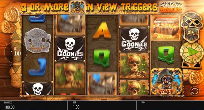 The Goonies (Blueprint gaming) Slot