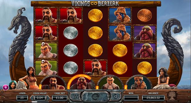 Vikings Go Berzerk(Yggdrasil Gaming) Slot