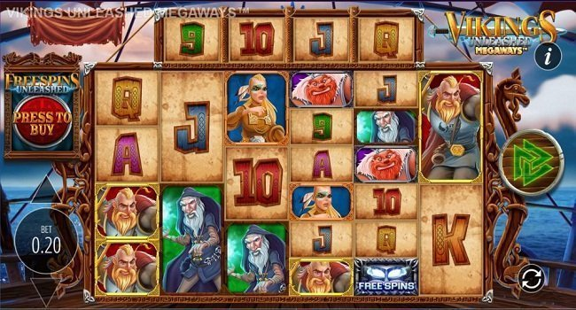 Vikings Unleashed Megaways (Blueprint Gaming) Slot