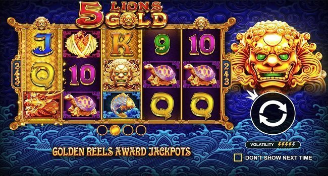 5 Lions Gold (Pragmatic Play) Slot Review