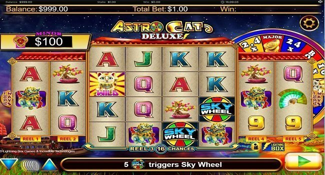 Astro Cat Deluxe (Lightning Box) Slot Review
