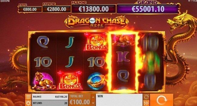 Dragon Chase (Quickspin) Slot Review