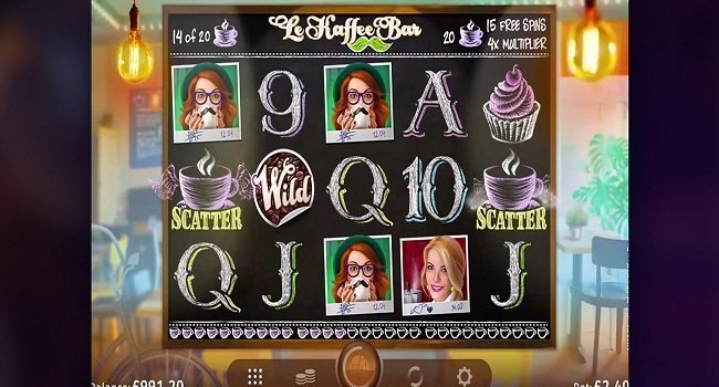 Le Kaffee Bar (Microgaming) Slot Review
