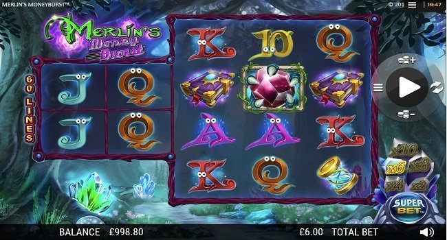 Merlin's Money Burst (NextGen Gaming) Slot Review