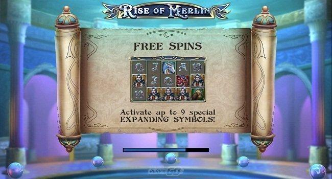 Rise of Merlin (Play'n Go) Slot