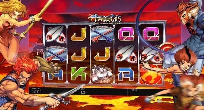 Thundercats Reels Of Thundera (Bluerint) Slot