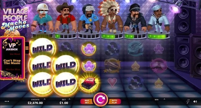 Village People Macho Moves (Microgaming) Slot Review