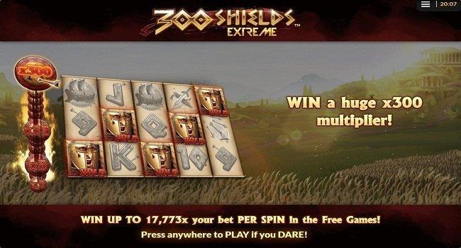 300 Shields Extreme (NextGen Gaming) Slot Review