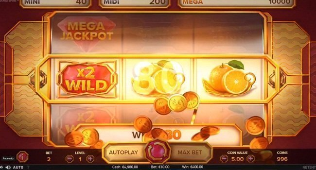 Grand Spinn (NetEnt) Slot Review