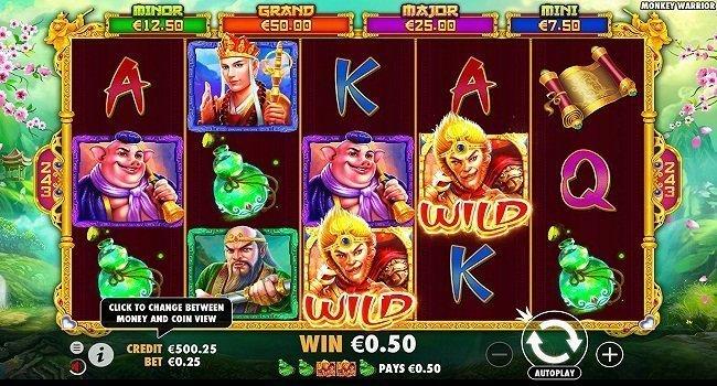 Monkey Warrior (Pragmatic Play) Slot Review