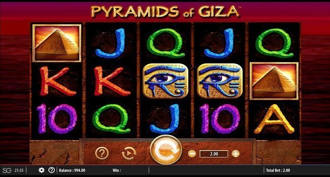 Pyramids of Giza (Barcrest) Slot Review