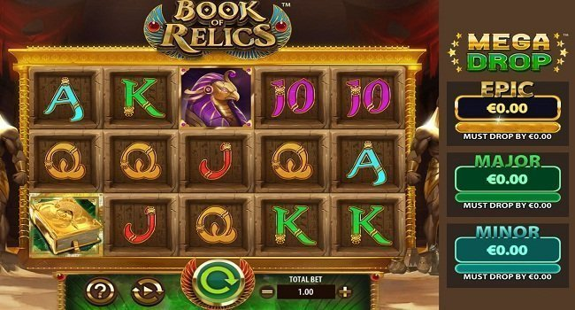 Book of Relics (Red 7 Gaming) Slot Review