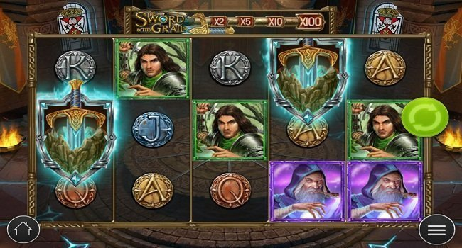 Play'n GO The Sword & The Grail Slot Review
