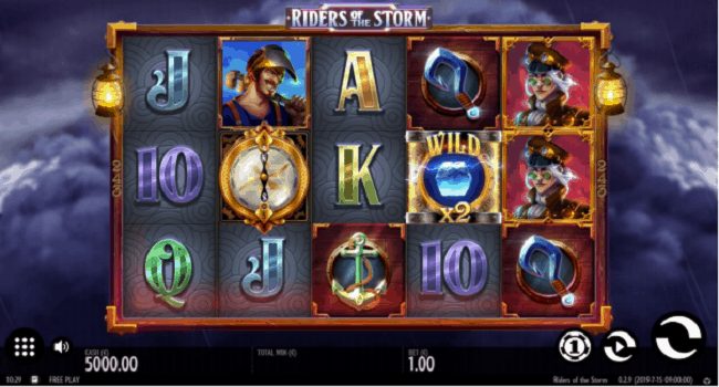 Riders of the Storm (Thunderkick) Slot Review
