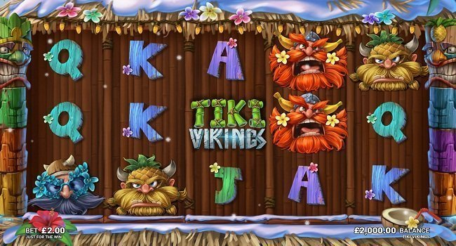 Tiki Vikings (Microgaming) Slot Review