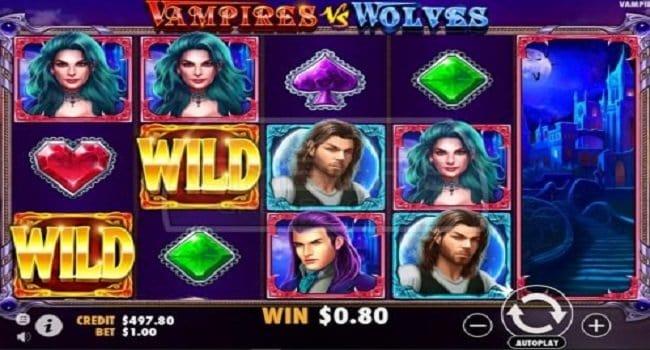 Vampires v.s. Wolves (Pragmatic) Slot Review