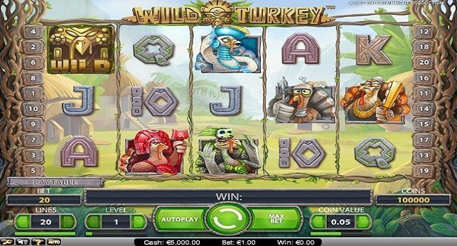 Wild Turkey (NetEnt) Slot Review