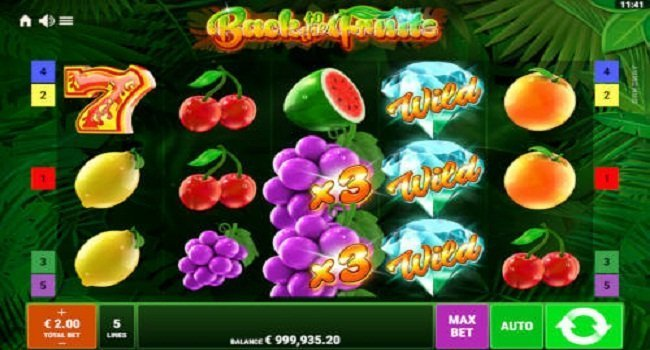 Back to the Fruits - Respins of Amun Re (Gamomat) Slot Review