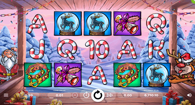Santa v.s. Rudolf (NetEnt) Slot Review