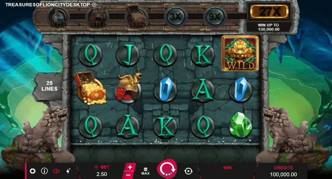 Treasures of Lion City (Microgaming) Slot Review