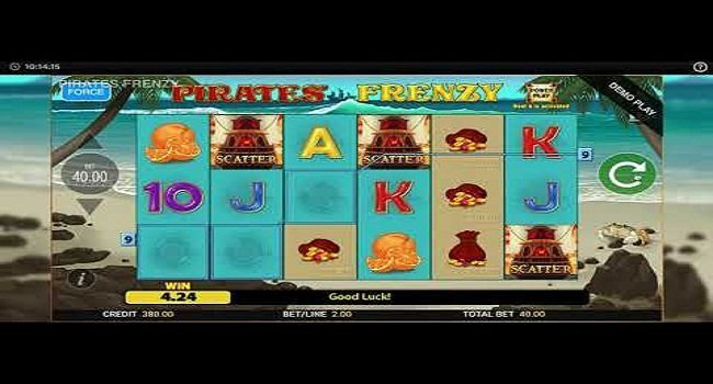 Pirates Frenzy (Blueprint Gaming) Slot Review