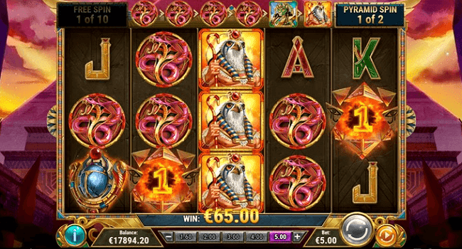 Dawn of Egypt (Play'n Go) Slot Review