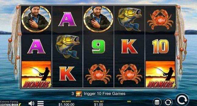 Extreme Fishing (Lightning Box) Slot Review