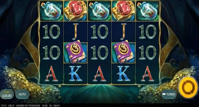 Hoard of Poseidon (Red Tiger Gaming) Slot Review