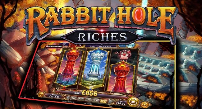 Rabbit Hole Riches (Play N Go) Slot Review