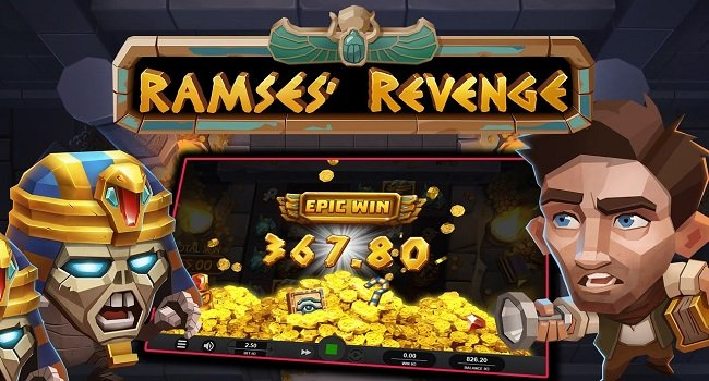 Ramses Revenge (Relax Gaming) Slot Review