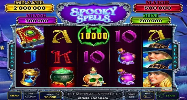 Spooky Spells (Grentube) Slot Review