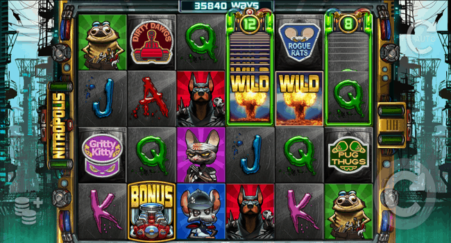 Nitropolis (ELK Studios) Slot Review