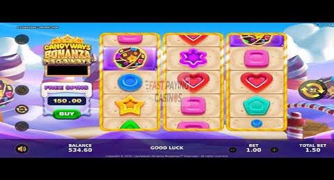 Candyways Bonanza Megaways Relax (Stakelogic) Slot Review