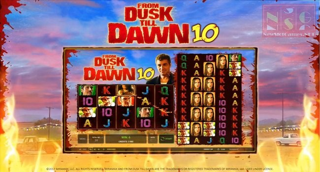 From Dusk till Dawn 10 (Novomatic) Slot Review