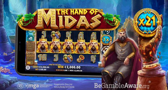 Hand of Midas (Pragmatic Play) Slot Review