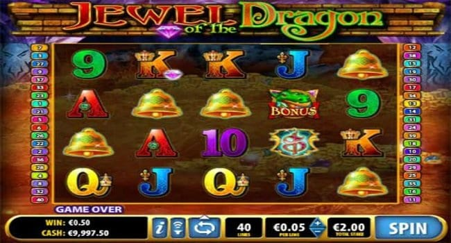 Jewels of the Dragon (Bally Technology) Slot Review