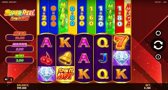 Super Reel - Spin It Hot (iSoftBet) Slot Review