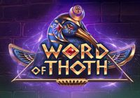 Word of Thoth (Yggdrasil Gaming) Slot Review