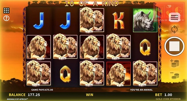 Africa X Up (Microgaming) Slot Review